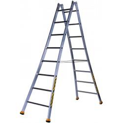H échelle double (1.85 m à 2.95 m)