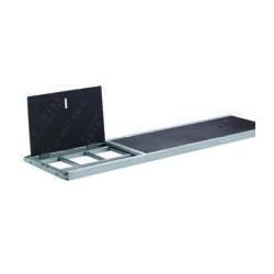 Plancher à trappe alu/bois